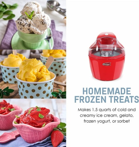 Elite by Maxi-Matic Electric Ice Cream Maker Perspective: right