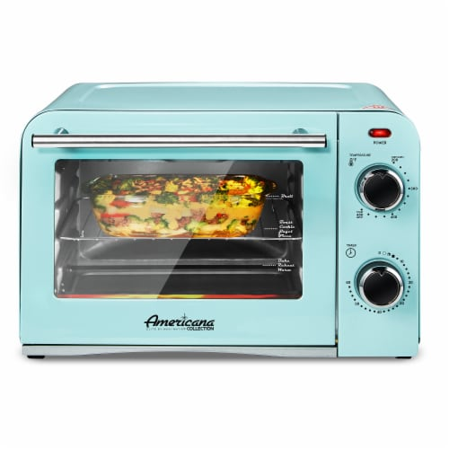 Elite Gourmet Americana Collection Retro 4-Slice Toaster Oven Perspective: right