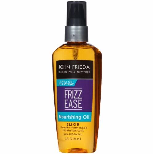 John Frieda Frizz-Ease Nourishing Oil Elixir Perspective: right