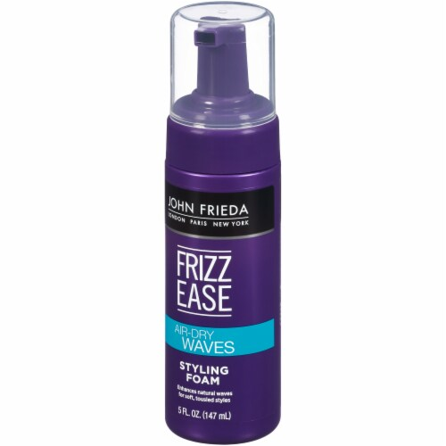 John Frieda Frizz Ease Air-Dry Waves Styling Foam Perspective: right