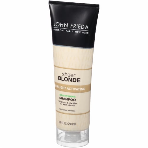 John Frieda Sheer Blonde Highlight Activating Enhancing Shampoo For Darker Blondes 8.45 oz Perspective: right