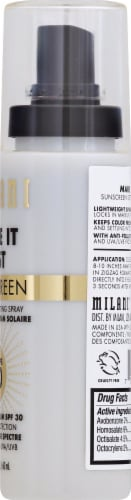 Milani Sunscreen Setting Spray Perspective: right