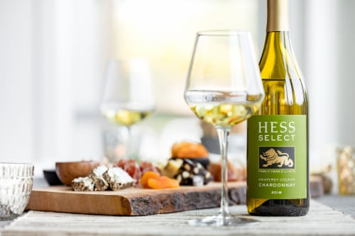 Hess Select Chardonnay White Wine Perspective: right