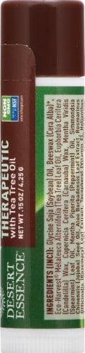 Desert Essence Organics Lip Rescue Therapeutic Perspective: right