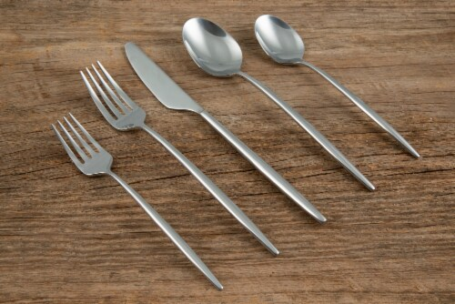 Cambridge Silversmiths Gaze Flatware Set - Mirror Perspective: right