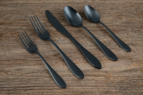 Cambridge Silversmiths Flatware - Black Perspective: right