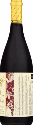 Frey Petite Sirah Organic Red Wine Perspective: right