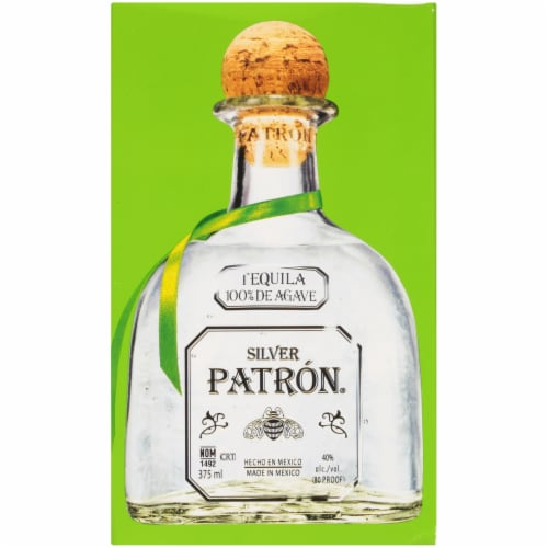 Patron Silver Tequila Perspective: right