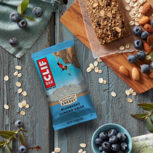 Clif Bar Blueberry Crisp Protein Energy Bars Perspective: right