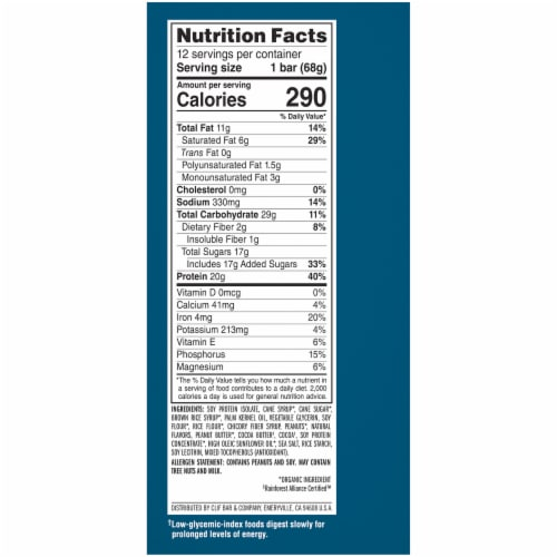 Builders Chocolate Peanut Butter Protein Bars Perspective: right