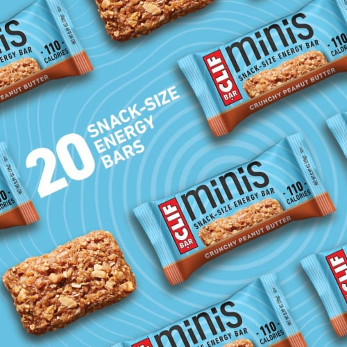 Clif Bar® Minis Crunchy Peanut Butter Snack Size Energy Bars Perspective: right