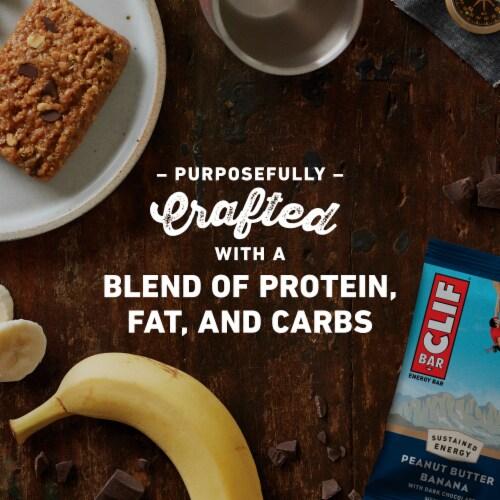 Clif Bar Peanut Butter Banana Dark Chocolate Energy Bars Perspective: right