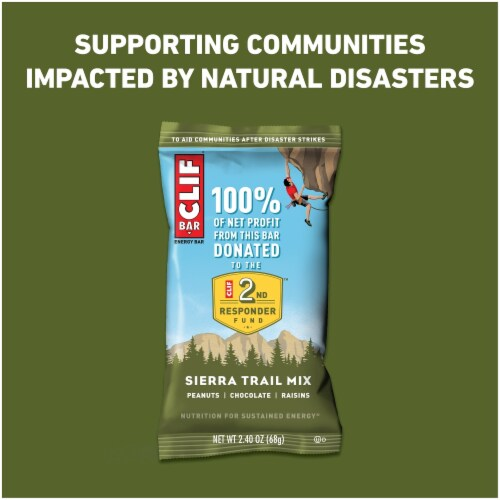 Clif Bar Sierra Trail Mix Energy Bars Perspective: right