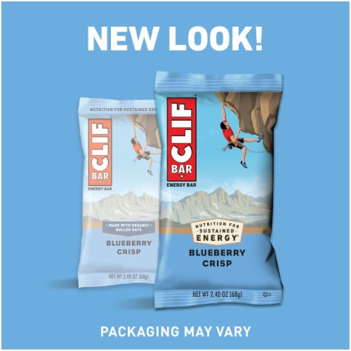 Clif Bar Blueberry Crisp Energy Bars Perspective: right