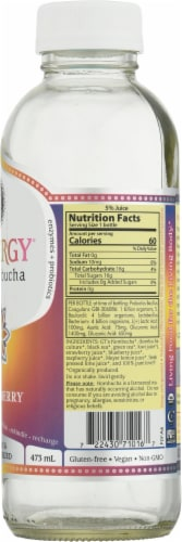 GT's Synergy® Organic Lemon Berry Raw Kombucha Perspective: right