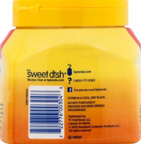 Splenda No Calorie Sweetener with Fiber Perspective: right