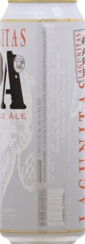 Lagunitas IPA Beer Perspective: right