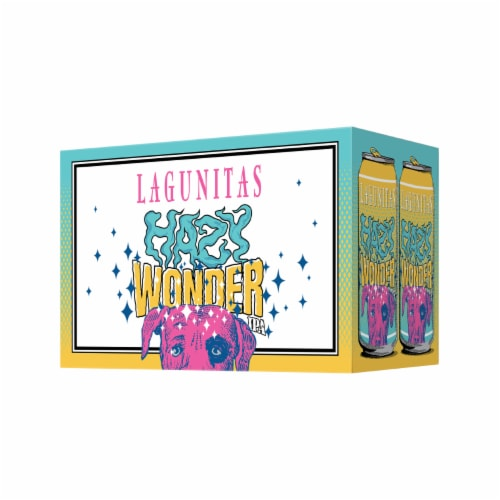 Lagunitas Hazy Wonder IPA Perspective: right