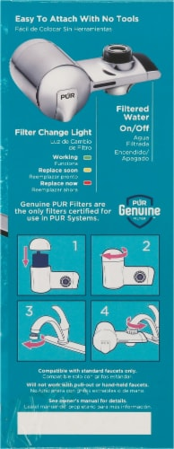 Pur Plus Faucet Filtration System - Chrome Perspective: right