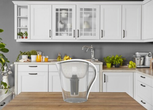 2 Drinkpod Ultra Premium Alkaline Water Pitchers 3.5L Capacity Includes 6 Filters Perspective: right