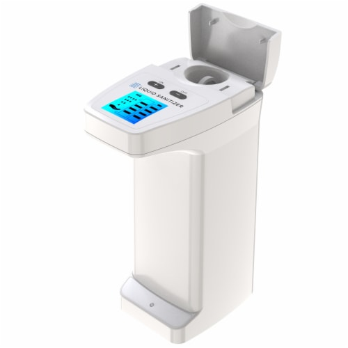 4 Pack Automatic Touchless Soap Dispenser High Capacity for Any Liquid Hand Sanitizer Perspective: right