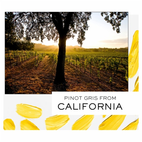 J Vineyards Pinot Gris White Wine Perspective: right