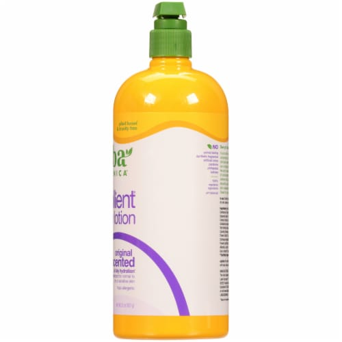 Alba Botanica Very Emollient Unscented Body Lotion Perspective: right
