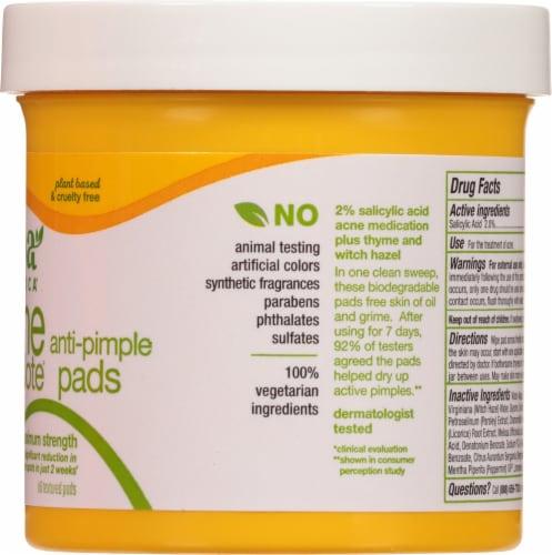 Alba Botanica Acne Dote Anti-Pimple Pads Perspective: right