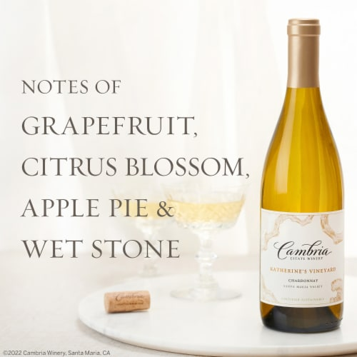 Cambria Katherine's Vineyard Chardonnay White Wine Perspective: right