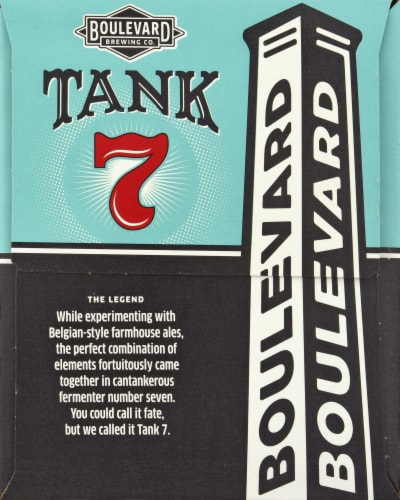 Boulevard Brewing Co. Tank 7 American Saison Ale Perspective: right