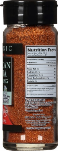 Selina Naturally  Organic Mexican Fiesta Seasoning with a Hint of Celtic Sea Salt Perspective: right