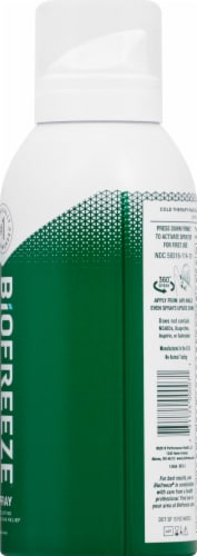 Biofreeze Cold Therapy Pain Relief Spray Perspective: right
