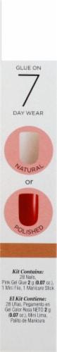Kiss Salon Acrylic Natural Strong Enough Long Length Nails Perspective: right