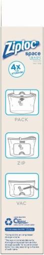 Ziploc® Space Bag® Vacuum Seal Cube Perspective: right