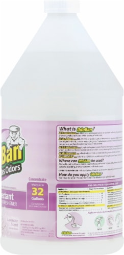 OdoBan Lavender Concentrate Disinfectant Perspective: right