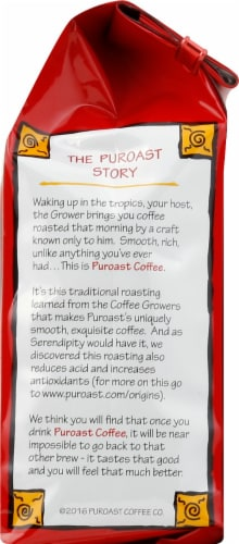 Puroast Coffee House Blend Decaf Perspective: right