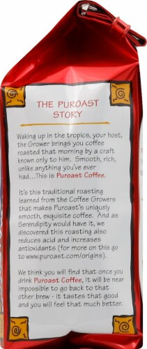Puroast Low Acid Dark French Roast Coffee Perspective: right