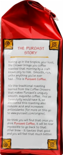 Puroast Coffee Dark French Roast Coffee Perspective: right