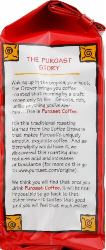 Puroast Bourbon Pecan Torte Ground Coffee Perspective: right