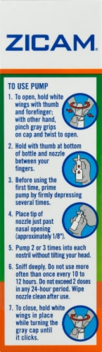 Zicam Extreme Congestion Relief Nasal Spray Perspective: right