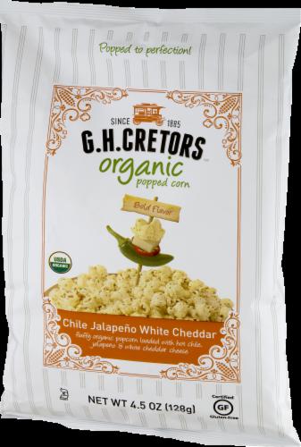 G. H. Cretors Chile Jalapeno White Cheddar Organic Popped Corn Perspective: right
