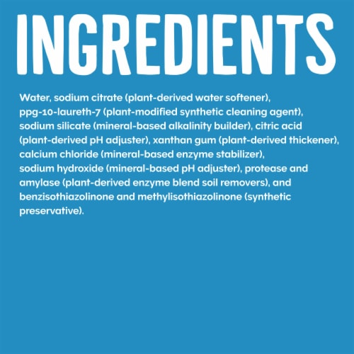 Seventh Generation Free & Clear Dishwasher Detergent Gel Perspective: right