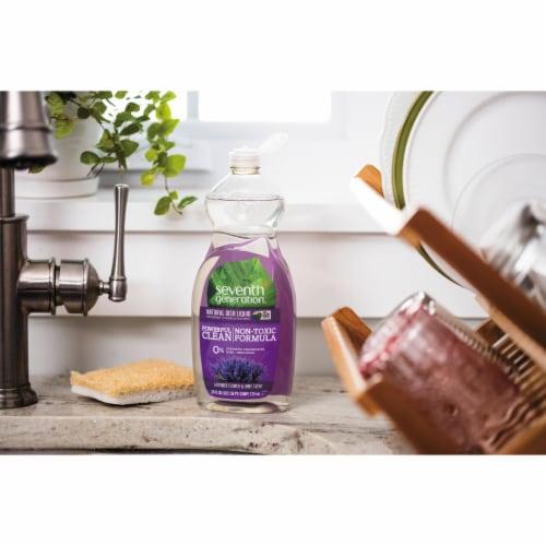 Seventh Generation Lavender Flower & Mint Scent Liquid Dish Soap Perspective: right