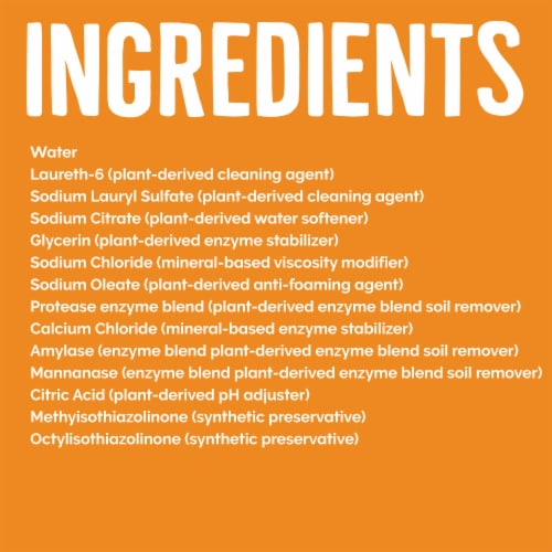 Seventh Generation Fresh Citrus Natural Liquid Laundry Detergent Perspective: right
