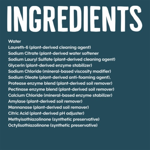 Seventh Generation Ultra Power Plus Free & Clear Scent Liquid Laundry Detergent Perspective: right