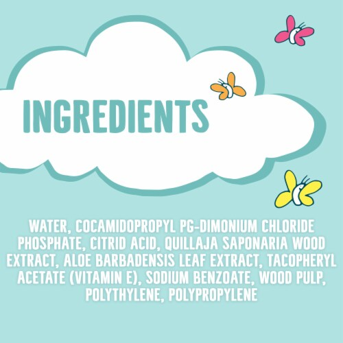 Seventh Generation  Free & Clear Baby Wipes Fragrance Free Perspective: right