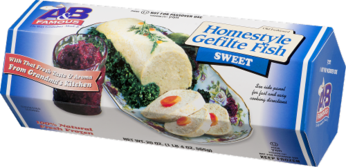 A&B Famous Homestyle Sweet Gefilte Fish Perspective: right