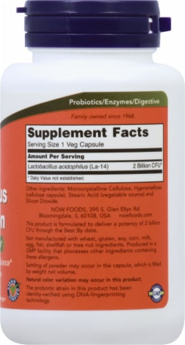 NOW Foods  Acidophilus Two Billion Perspective: right