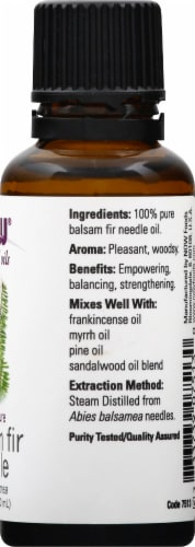 Now Essential Oils Balsam Fir Needle Oil Perspective: right
