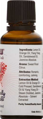 NOW Foods  Essential Oils Naturally Loveable Perspective: right